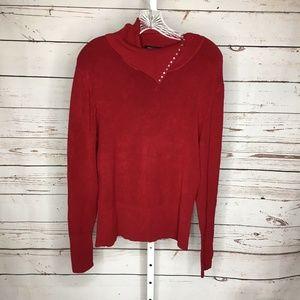 BCBG Maxazria Long Sleeve embellished sweater M
